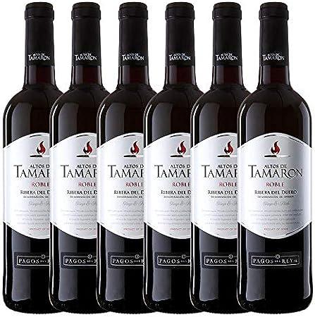 Altos de Tamaron - Ribera del Duero - Roble, Vino Pinto - Pack de 6 uds x 750 ml