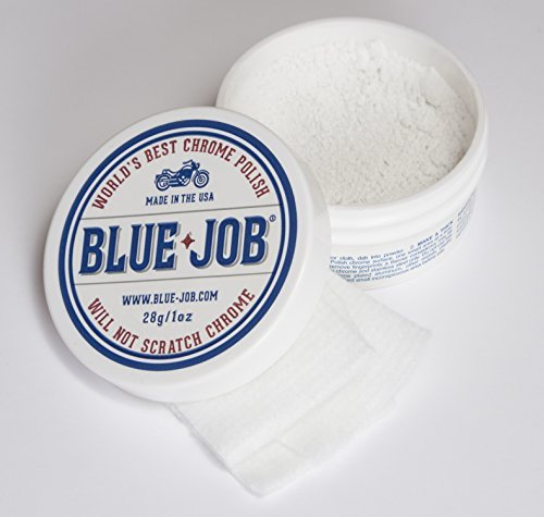 (Blue-Job Chrome Polish - Perfect for Your Motorcycle! One Polish for All Your Needs)