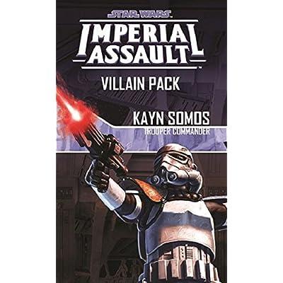 Star Wars: Imperial Assault - Kayn Somos Villain Pack: Toys & Games
