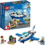 LEGO City Sky Police Jet Patrol 60206 Building Kit , New 2019 (54 Piece) LEGO
