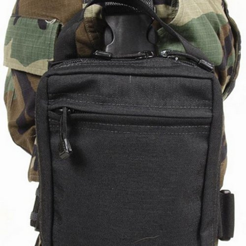 BLACKHAWK! Omega Elite Modular Drop Leg Medical Pouch - Black