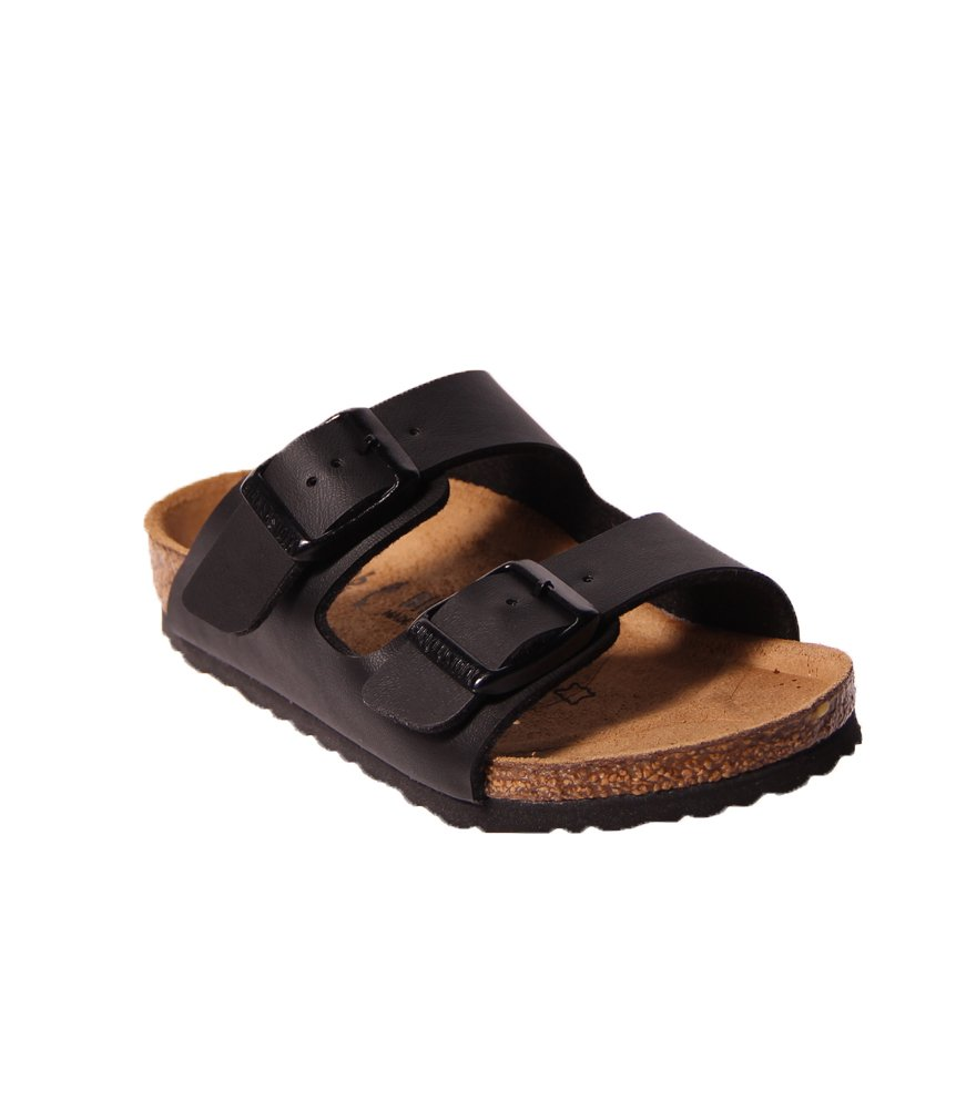 6e604104fab0 Galleon - Birkenstock Arizona Birko-Flo Black Birko-flor Sandals - 34 (US  3-3.5 Little Kid Big Kid) Narrow