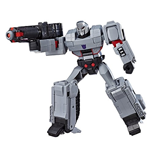 Transformers Toys Cyberverse Action Attackers Ultimate Class Megatron Action Figure - Repeatable Fusion Mega Shot Action Attack - for Kids Ages 6 & Up, 11.5