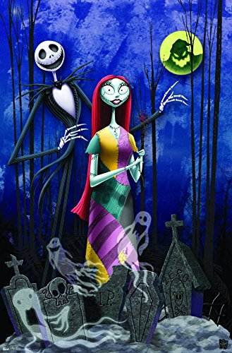 Trends International The Nightmare Before Christmas Romance Wall Poster 22.375