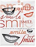 Practicon 1109679 Bright Smiles Scatter Print Bags, 9'' x 12'' (Pack of 100)