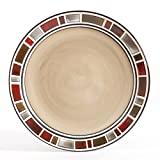 """Gibson Elite Cimarron set of 4 - 11"""" Dinner Plates"""
