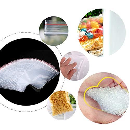STRUGGGE Der Kunststoffbeutel des Rei/ßverschlusses der Beutel der T/üten mit Kunststofflampen der 100 Sigilla Das Frischhaltepackung Fresco-tenga Staubdicht