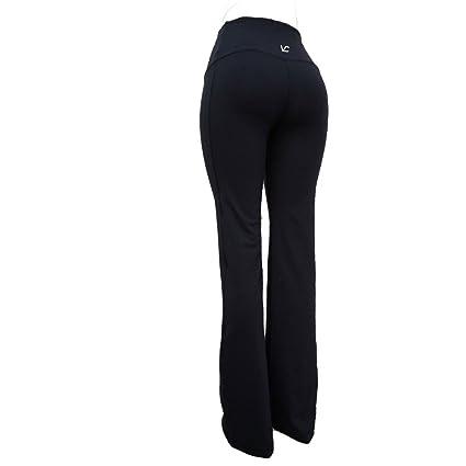 "ca134dfa9e564 Victoria's Challenge Women Flare Boot Tummy Control Cut Yoga Dress Pants  Athletic Casual Office 27""/28""/29"