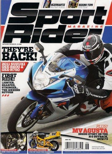 Gsxr750 Carbon - Sport Rider Magazine June 2011