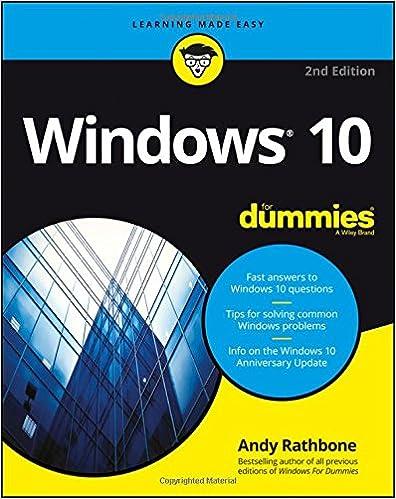 Amazon Com Windows 10 For Dummies 9781119311041 Andy Rathbone Books