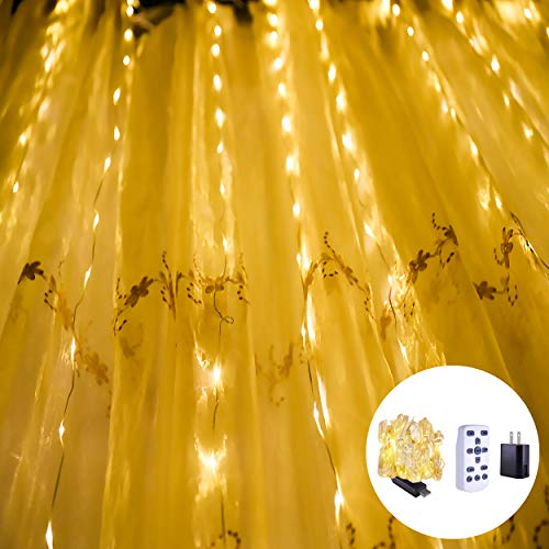 LOUIS CHOICE LED Curtain String Lights