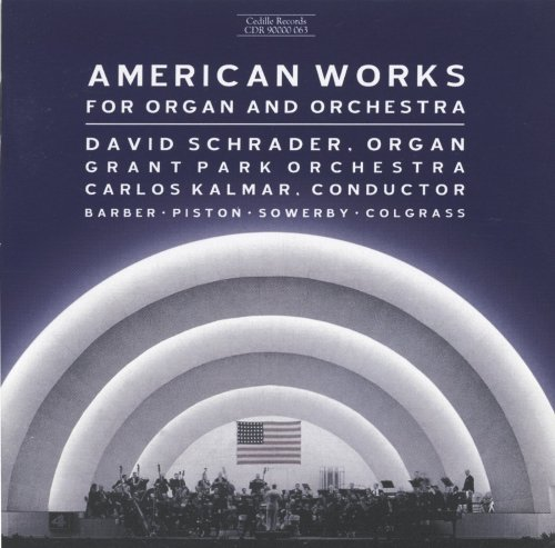 American Works for Organ & Orchestra / Various