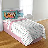 D.I.D. 3 Piece Kids Girls Feathered Arrow Twin Sized Sheet Set, Galloping Horses Bedding Bohemian Spirit Pattern Giddy Up Themed Teen Childrens Ranch Country Farm, Polyester