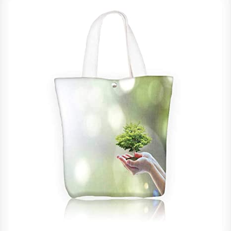 Sav On Bags >> Amazon Com Women S Canvas Tote Bag Biological Tree Plant On