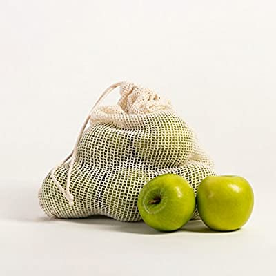 Reusable Produce Cotton Mesh Bags