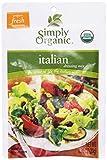 italian salad dressing mix - Simply Organic Dressing Mix, Italian, .7 oz