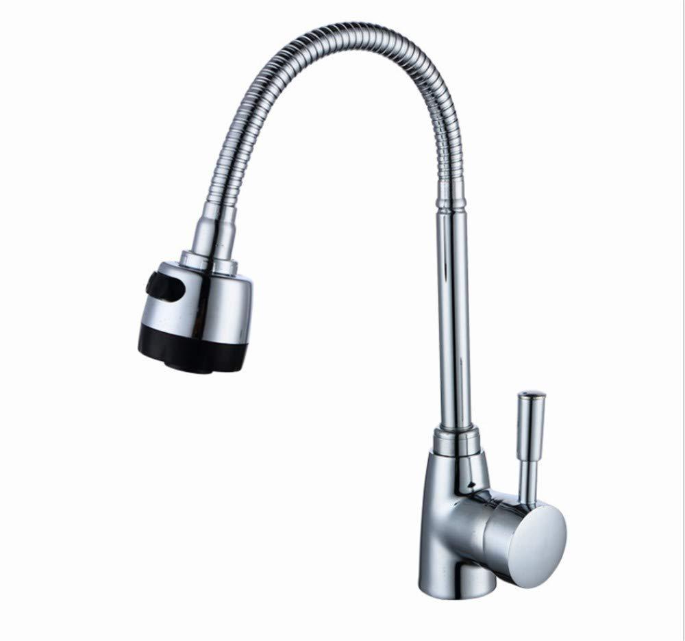 Toilettenvorrichtungen Edelstahl Einhand Wasserhähne Küche Legierung  Universal Wasserhahn Waschbecken Wasserhahn Küche Heißer Und Kalter Mischer  360 ...