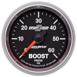 Auto Meter 3605 Sport-Comp II Mechanical Boost Gauge