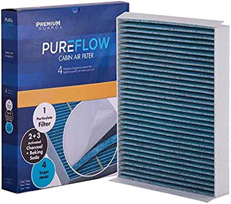 Premium Air Filter for Ford Mustang 2015-2017 w// 2.3L Engine