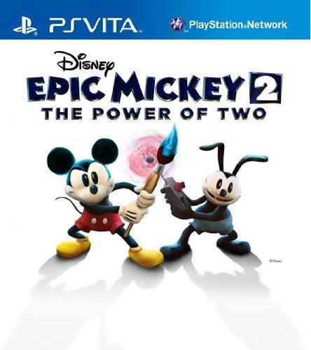 Amazon.com: Disney Epic Mickey 2: The Power of Two - PS Vita ...