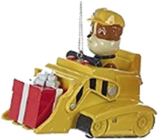 Paw Patrol Christmas Ornaments - Chase, Marshall & Rubble by Kurt Adler (Rubble)