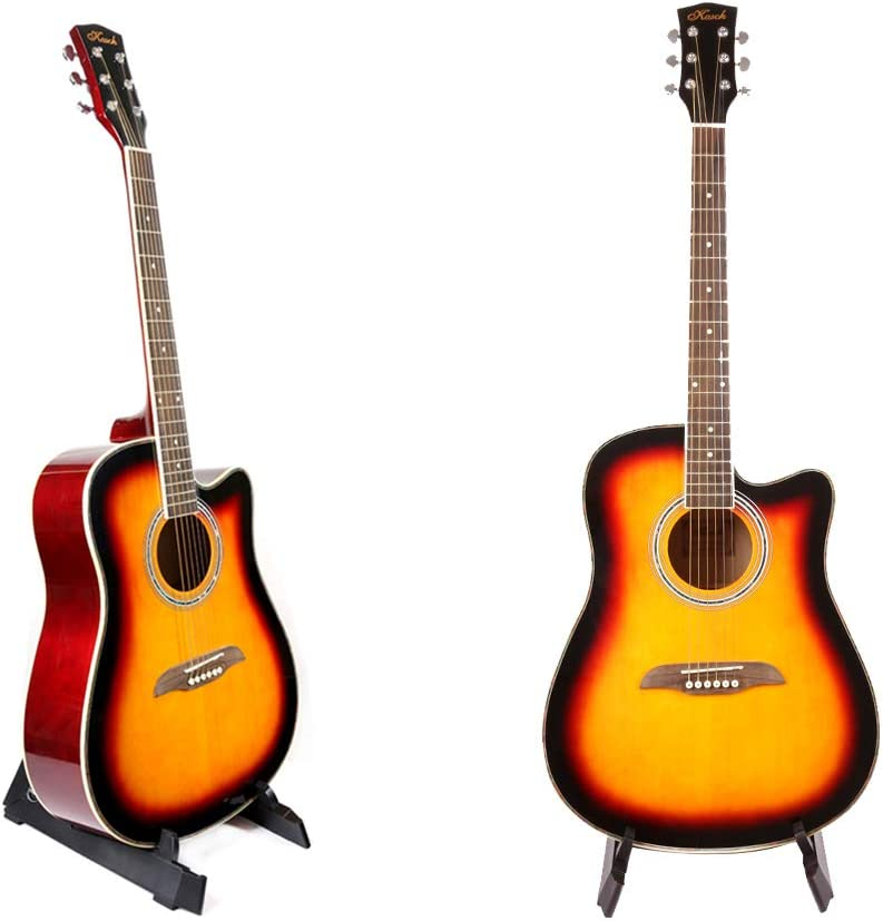 AN Soporte De Suelo Guitarra, Aluminio Plegable Ajustable para ...
