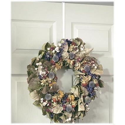 Spectrum Diversified 69000 White Over The Door Wreath Holder