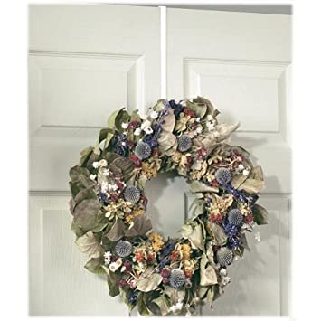 Spectrum Diversified 69000 White Over The Door Wreath Holder  sc 1 st  Amazon.com & Amazon.com: Spectrum Diversified 69000 White Over The Door Wreath ... pezcame.com