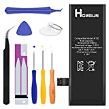 HOMSUM Battery Replacement for iPhone SE with Repair Tool Kits - Full 1624mAh 0 Cycle [365 Days Warranty]