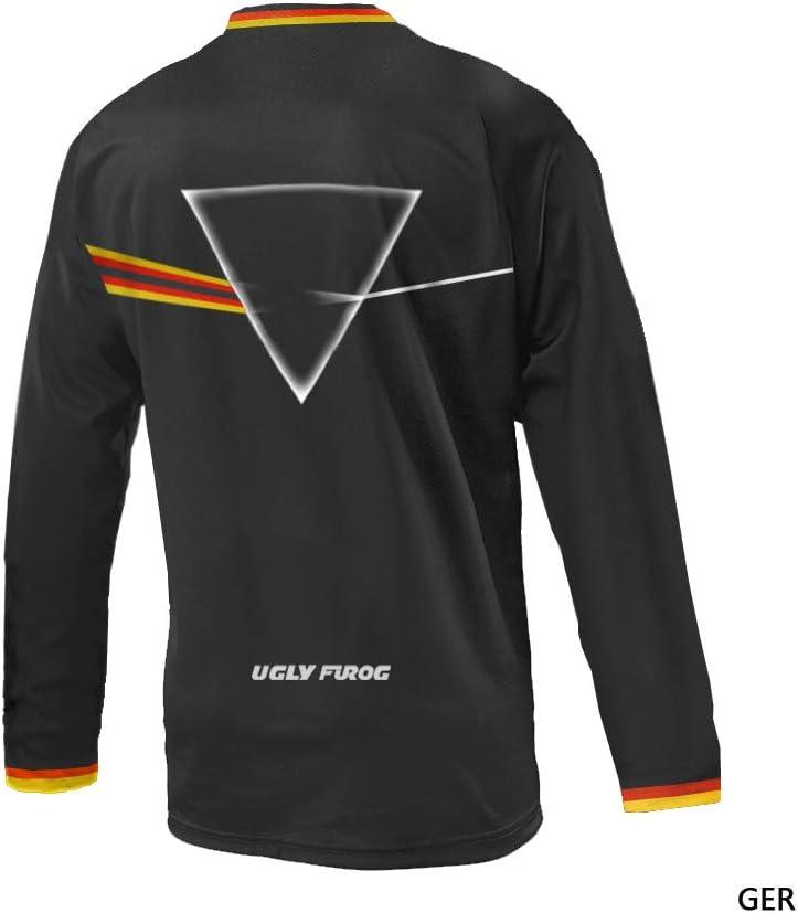 Uglyfrog 2019 Neu Langarm /Ärmel Jersey Radsport Moto Mountain Bike Downhill Shirt Herren Sportbekleidung Kleidung DHX09