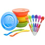 munchkin spoon - Munchkin 6-Pack Soft Tip Infant Spoons with Love A Bowls