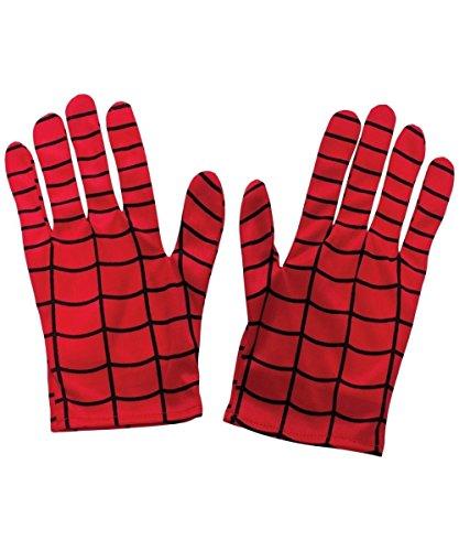 Ultimate Spiderman Movie Kids Halloween Costume Accessory Gloves
