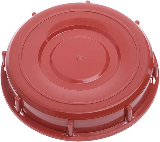 275-330 163mm Gallon IBC Tote Tank Cover Lid Cap For Schutz Mauser Red//Black