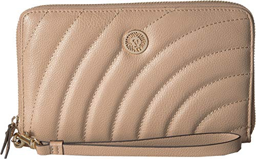 Anne Klein Women's Travel Zip Around Wallet Chino One Size
