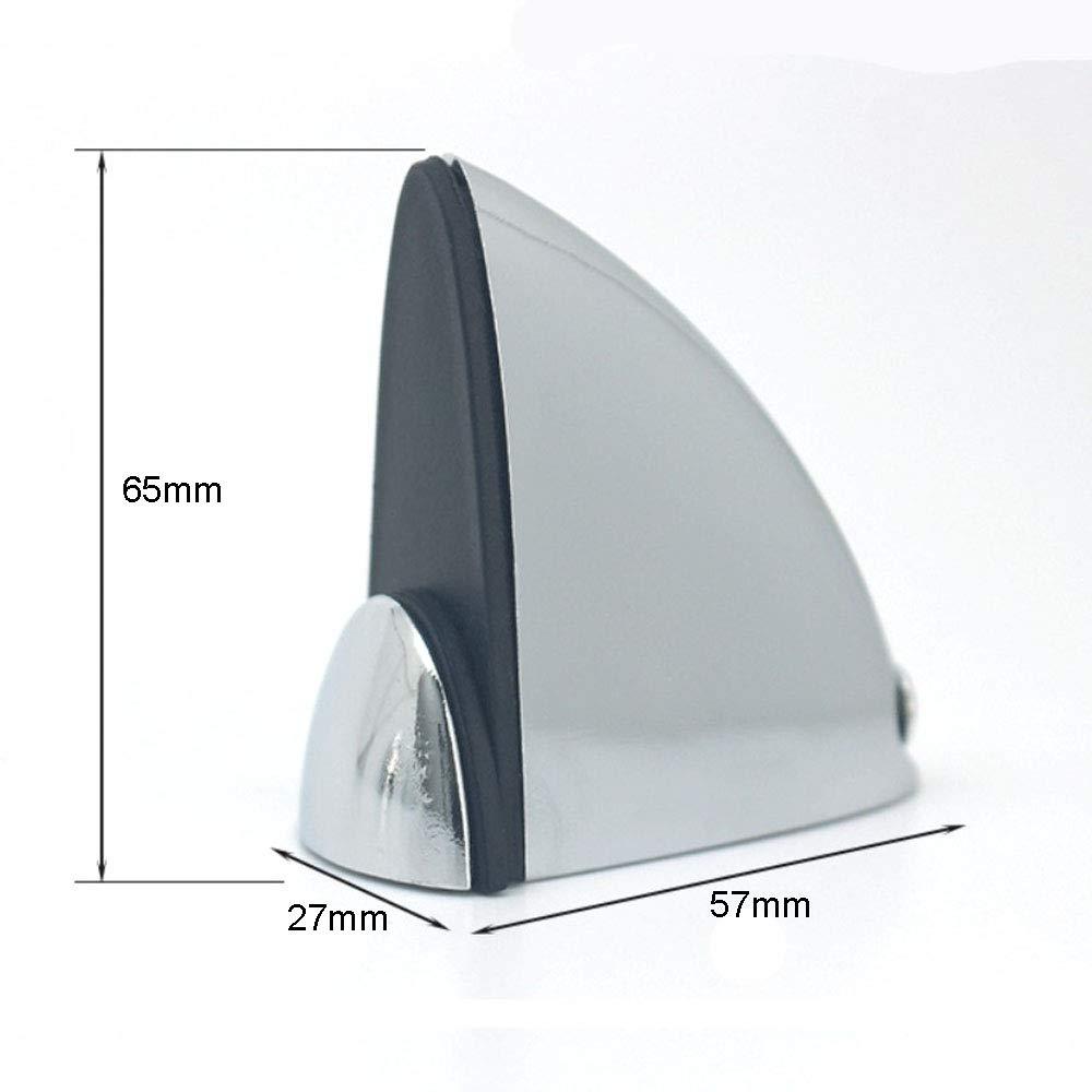 Holz- // Glasbodentr/äger verchromte Zinklegierung Clip in Fischmundform 10er-Set NUZAMAS-Glasklemmen Holzhalter mit Glashalterung einstellbare Klemmst/ärke 3-18 mm