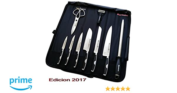 MANTA QUTTIN TOP CHEF 2017 ORIGINAL MOARE + SET CERAMICO REGALO