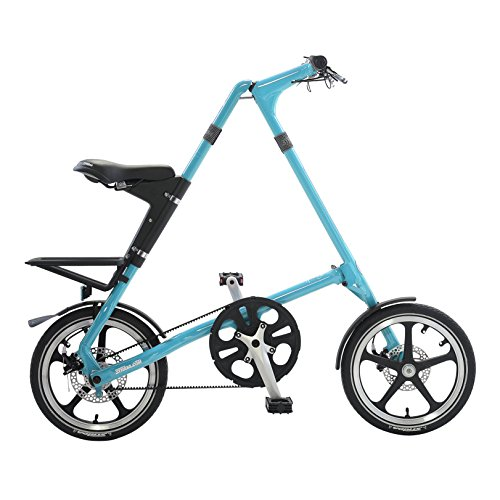 Strida LT Folding Bicycle, folds to 45x20x9