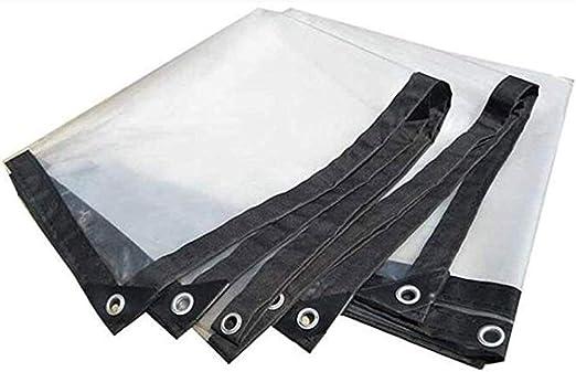 Lona ZXMEI Impermeable, Cubierta De La Planta A Prueba De Lluvia De Pérgola PE Resistente A La Lluvia De Jardinería Transparente Resistente (Blanco) (Size : 2x4m): Amazon.es: Hogar