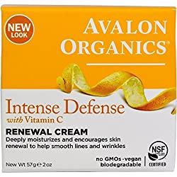 Avalon Organics Vitamin C Renewal Creme, 2 Oz