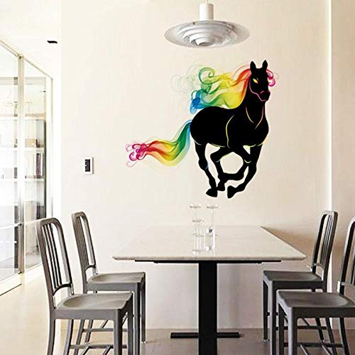 Home Decor 3d Horse Wall Stickers Movie Room Decorations ...