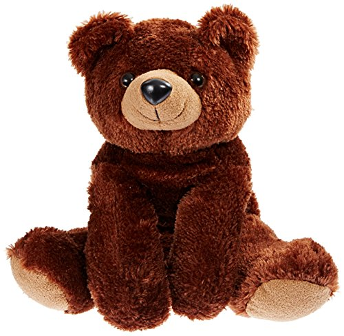 16 Inch Brown Teddy Bear (Purr-Fection Drake Snuggle Ups Brown Bear 16