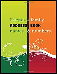 What is an address book name