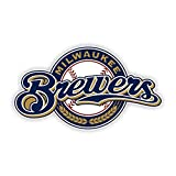 WinCraft Milwaukee Brewers Premium Acrylic Magnet, Carded