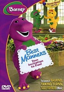 amazoncom barney best manners invitation to fun