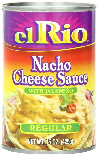 - El Rio Nacho Cheese Sauce, 15-Ounce Can (Pack of 12)