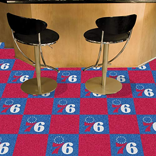 Fanmats NBA - Philadelphia 76ers Team Carpet Tiles