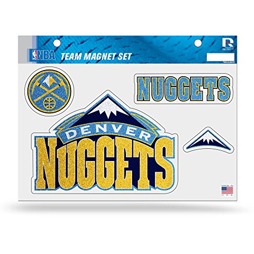 NBA Denver Nuggets Bling Team Magnet Set (Denver Nuggets Set)