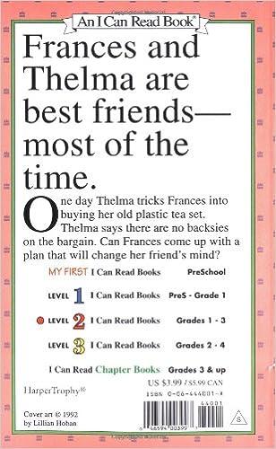 Amazon.com: A Bargain for Frances (I Can Read Level 2 ...