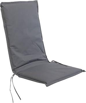 Coussin pour chaise à dossier haut 116 x 45 cm - en 2 couleurs ...