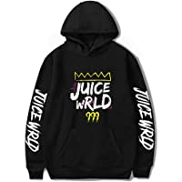 Flyself Unisex Juice Wrld Hoodie Sweatshirt Rapper Hip Hop Casual Pullover Sweatshirt Tops for Men Women Teen